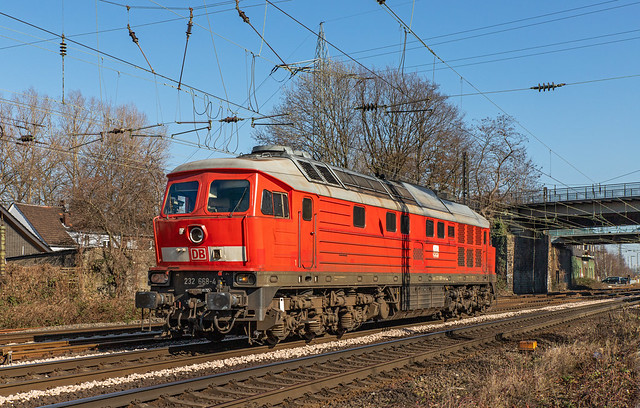 DBC 232 668. Oberhausen Osterfeld Süd