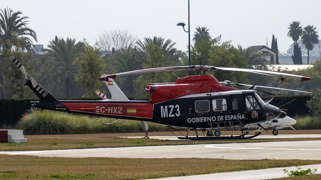 EC-HXZ - BELL 412 (MSN 33106) BABCOCK ESPAÑA