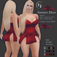 """Lupus Femina"" Summer Dress 15 colours"