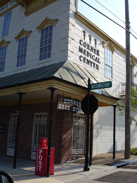 Corner Drug Store, Vicksburg MS