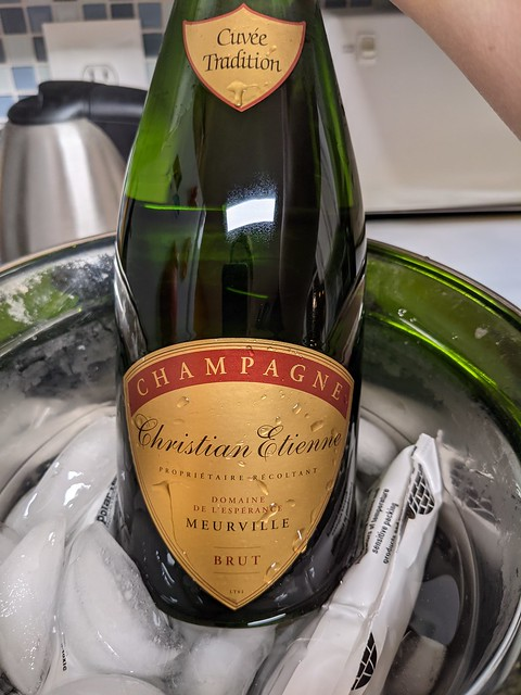Paris: champagne! (purchased @ Wine Authorities)
