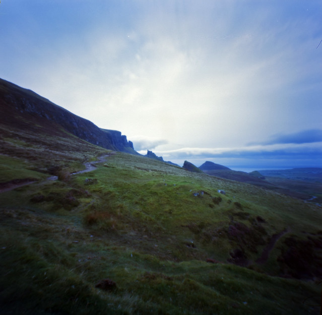 pinhole shot of the Quiraing