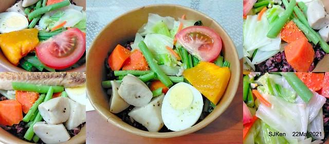 snapper lunch box at Taipei, Taiwan, SJKen, Mar 22, 2021
