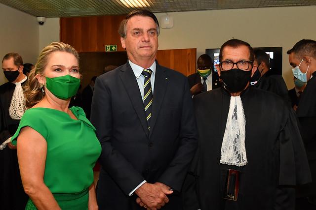 Solenidade de posse do Ministro Humberto Martins e do Ministro Jorge Mussi nos cargos de Presidente e de Vice-Presidente do Superior Tribunal de Justiça e do Conselho da Justiça Federal para o Biênio 2020-2022