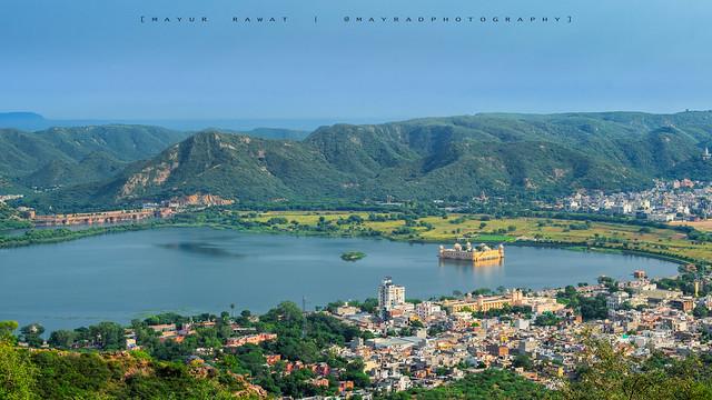 Man Sagar Lake, Jaipur