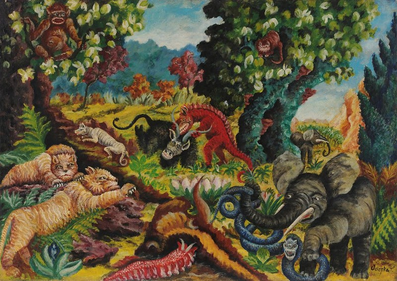 Teofil Ociepka - Jungle, 1959