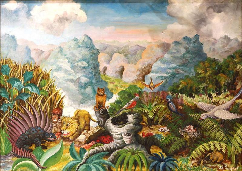 Teofil Ociepka - The Middle Jungle, 1958