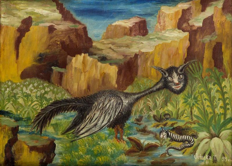 Teofil Ociepka - Fantastic Creatures, 1959