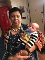 Liam e nonna Paola 4.3.2021