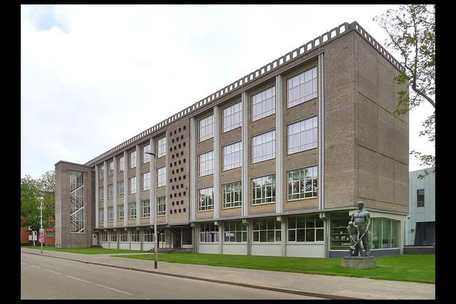 eindhoven tweede technische school 01 1955 geenen_oskam (piusln)