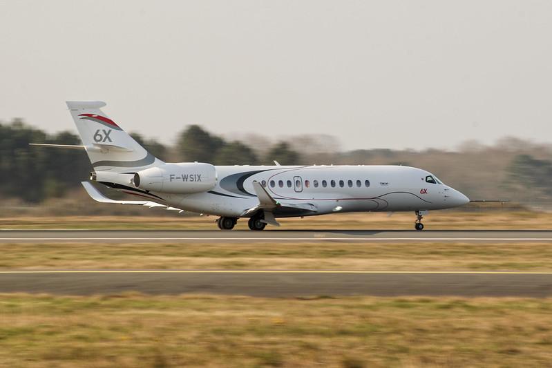 F-WSIX - Dassault Falcon 6X