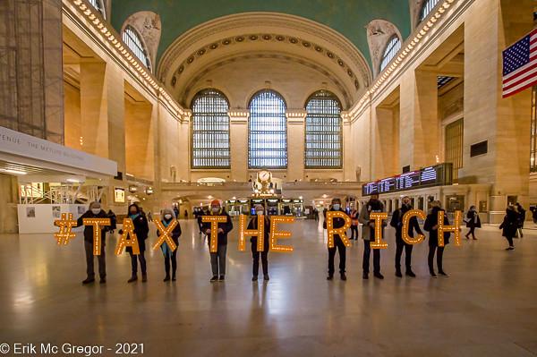 Tax The Rich: Campaign for Progressive Revenue - Social Media Photoshoot