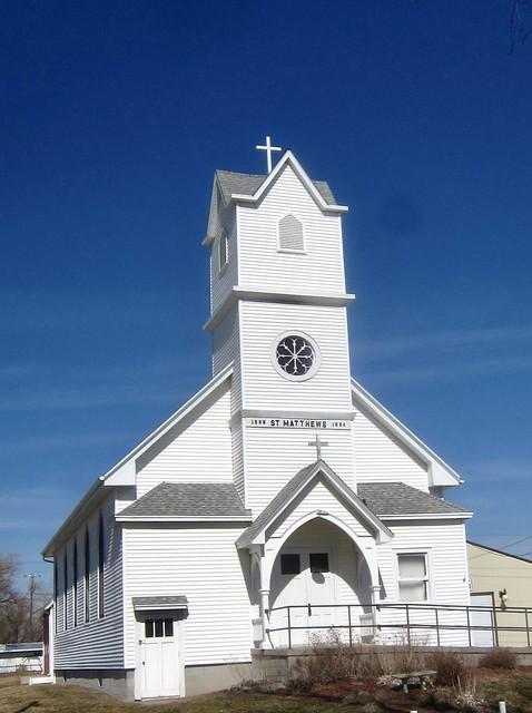 St. Mathews church, Fairgrounds, West Point