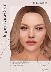 Inger face skin [Genus Project]