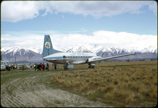 Pukaki Airport, New Zealand, 1968