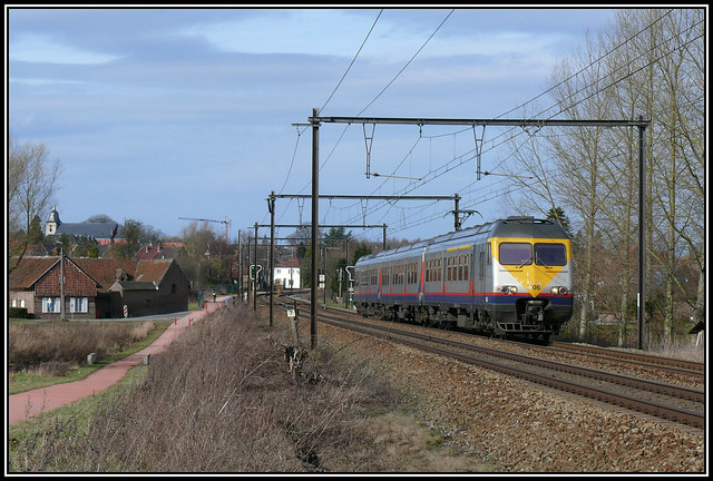 SNCB/NMBS 406 Hoeselt 27.02.2010