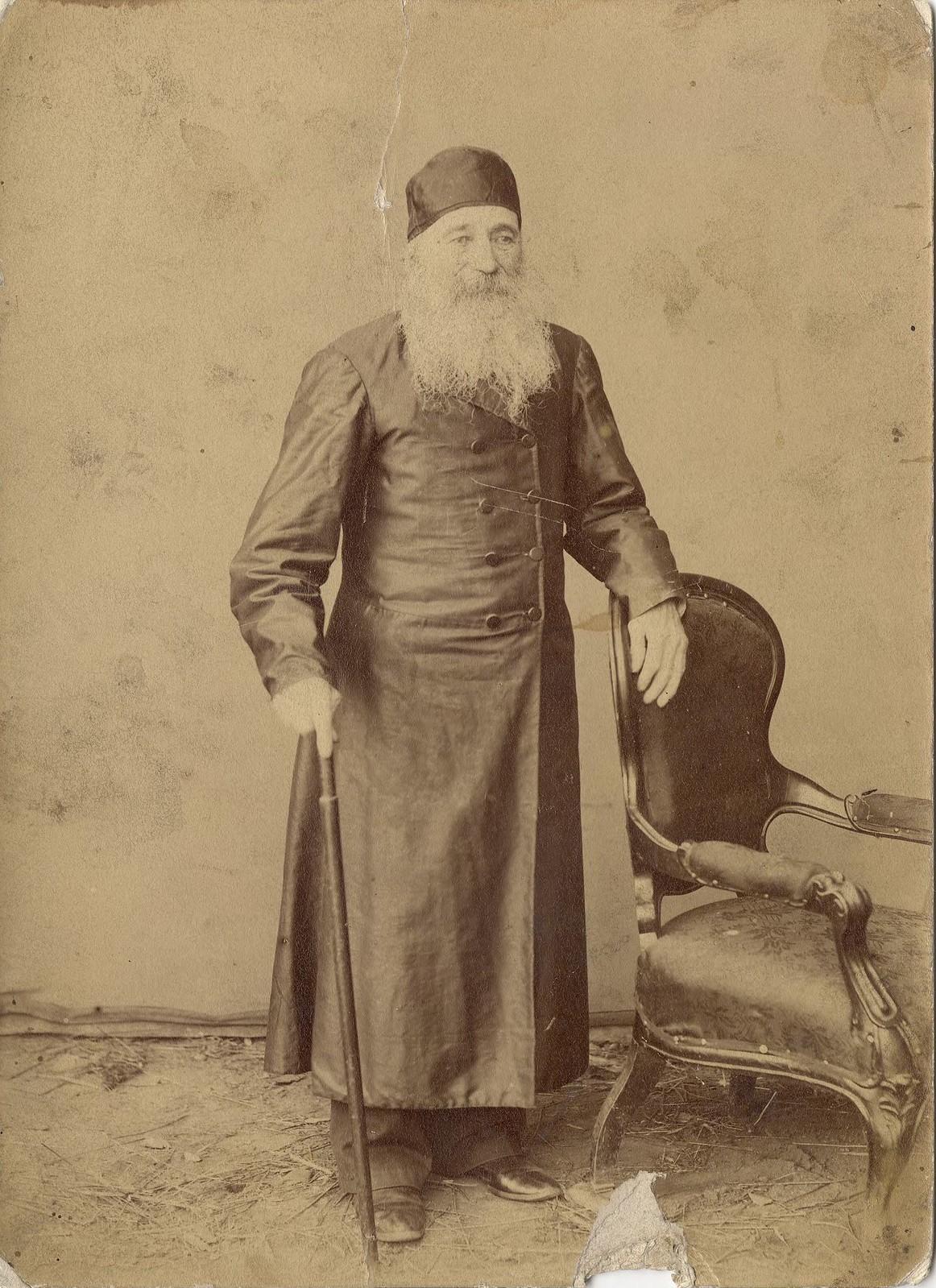 1880. Портрет раввина