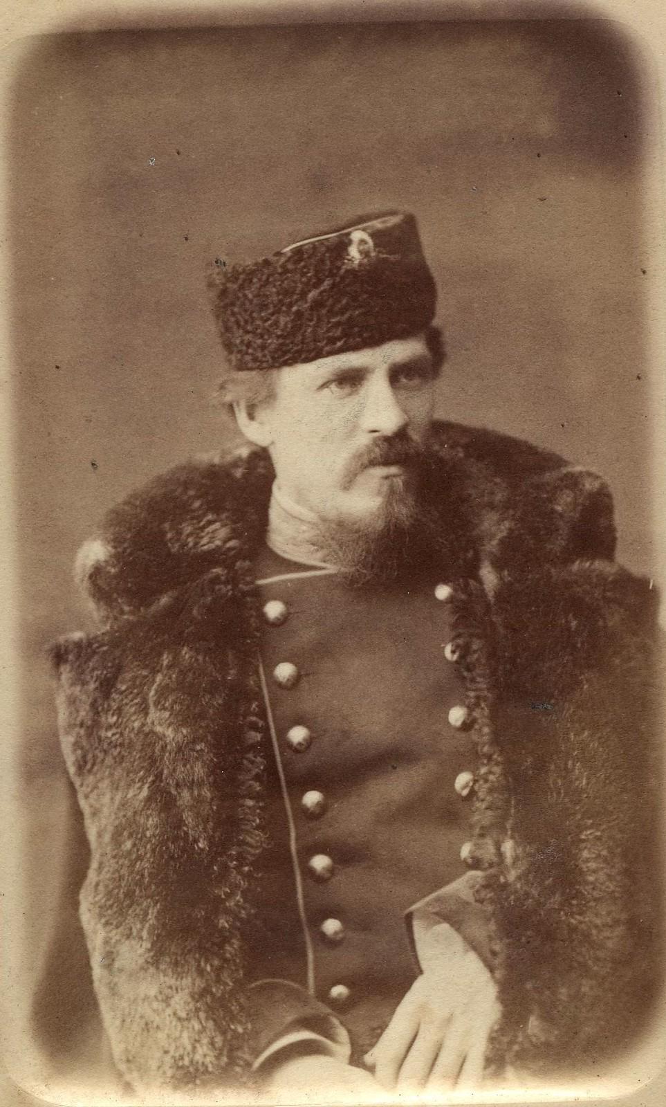 1880. Портрет офицера русской армии