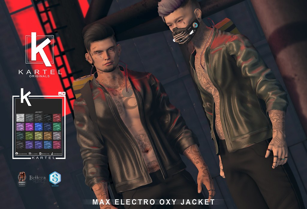 Max Electro Oxy Jacket @ CYBER FAIR
