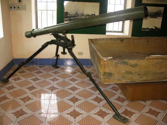 Lance-roquettes Grad portatif