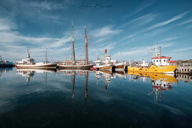 Húsavík Harbour (Iceland)