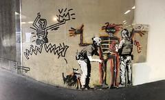 Bansky Ft. Keith Haring