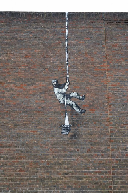 Banksy Reading Prison Escape