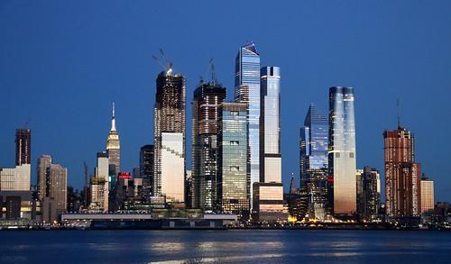 manhattan newyork landscape night