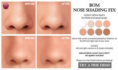 BOM Nose Shading Fix (for FLF)