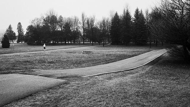 Avoir le parc pour lui tout seul...