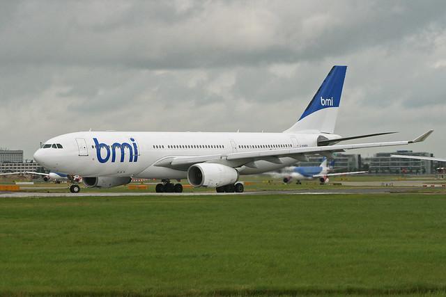Airbus A330-243 'G-WWBM' bmi British Midland International