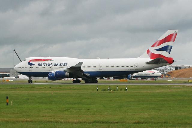 Boeing 747-436 'G-BYGB' British Airways