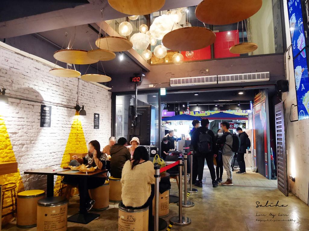 台北吃素推薦寶林咖啡館饒河夜市素食餐廳小吃馬來西亞料理小吃IG素食美食 (1)