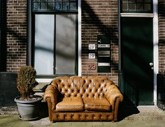 chesterfield couch.