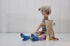 Dress Form Mini Pincushion