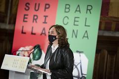 dc., 03/03/2021 - 11:50 - Presentació de les propostes guanyadores del concursos públics per als primers quatre eixos verds i quatre places de la Superilla Barcelona