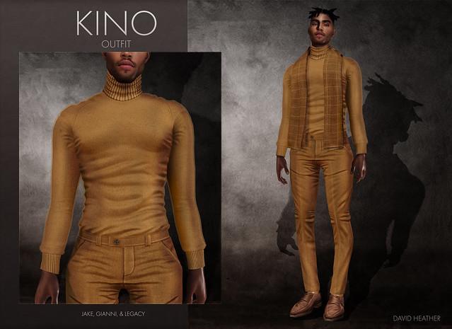 Kino Outfit | DAVID HEATHER