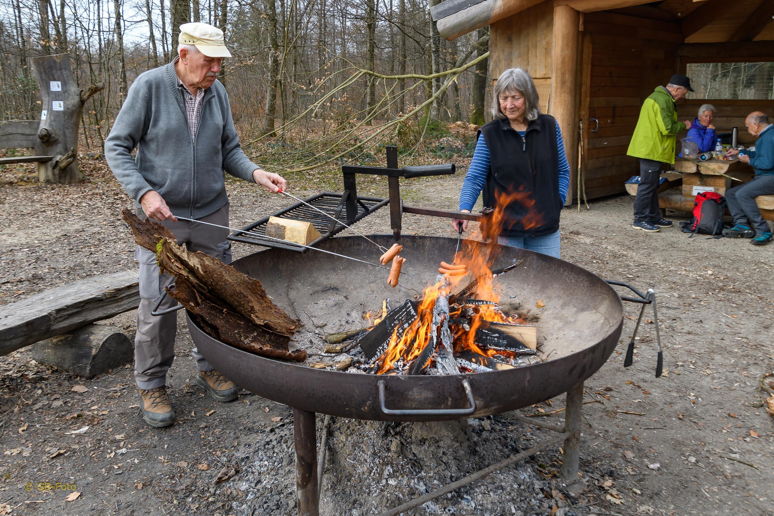 Seniorenwanderung Kaiseraugst - Rheinfelden 04.03.2021
