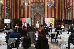dc., 03/03/2021 - 11:52 - Presentació de les propostes guanyadores del concursos públics per als primers quatre eixos verds i quatre places de la Superilla Barcelona