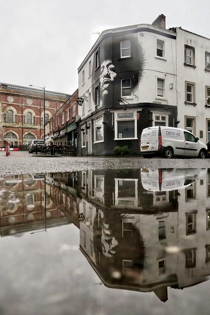 Bristol reflections of Jimi!
