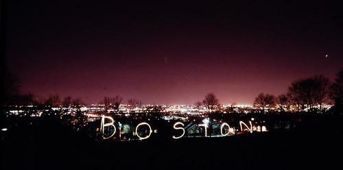 Boston, it says