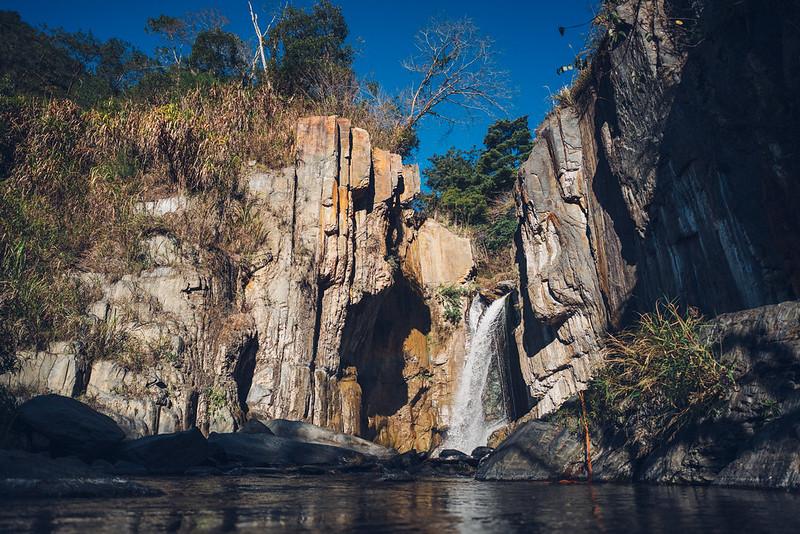 夢谷瀑布|南投