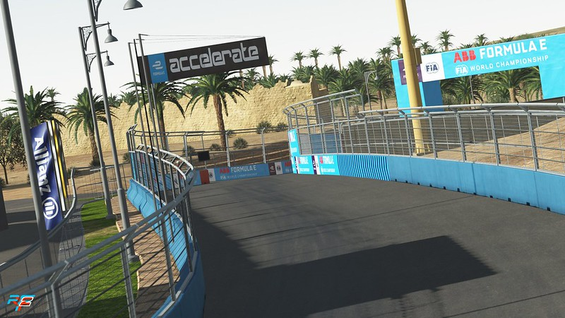 rFactor 2 - Diriyah E-Prix Circuit Available