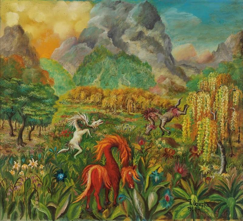 Teofil Ociepka - Meadow, 1960