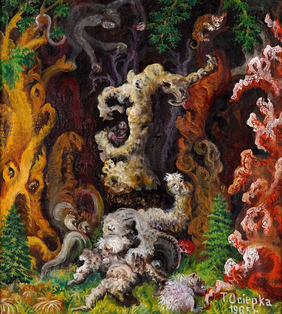 Teofil Ociepka - Fantastic Composition, 1965