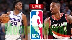 Sacramento Kings vs Portland Trail Blazers - NBA Live Today | Scoreboard