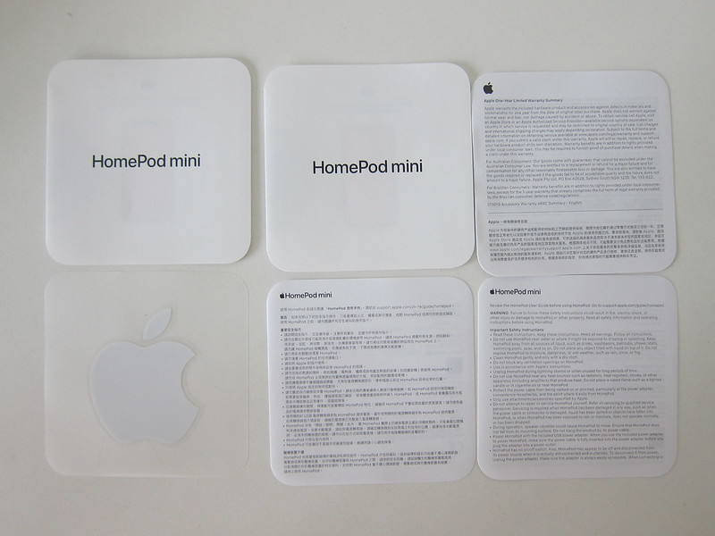 Apple HomePod Mini - Booklets