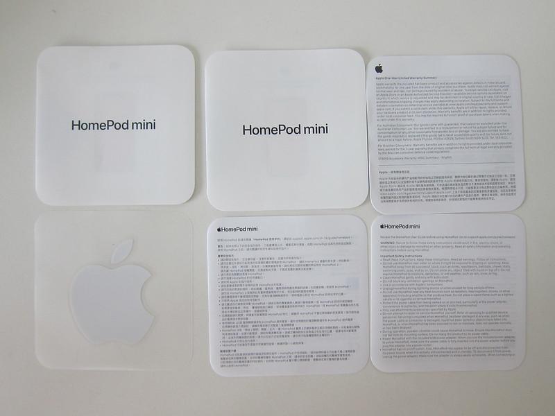 Apple HomePod Mini - Booklets