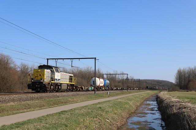 LINEAS/NMBS 7847 Molenstedebroek 2/03/2021.