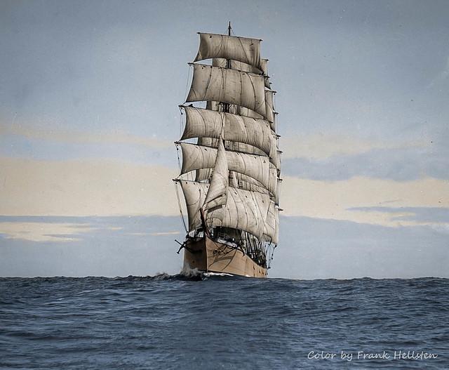Four-masted barque Elginshire (ab.) 1900